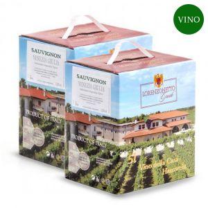 Confezione 2 Bag in Box Sauvignon Igt Venezia Giulia 5 litri – Lorenzonetto Friuli Venezia Giulia