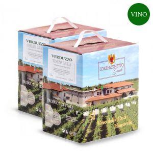 Confezione 2 Bag in Box Verduzzo Igt Venezia Giulia 5 litri – Lorenzonetto Friuli Venezia Giulia