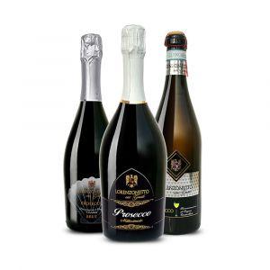 Prosecco Frizzante, Brut e Extra Dry – 3 bt – Lorenzonetto