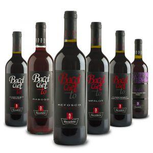 Confezione 6 bottiglie Mista Rossi – Baccichetto
