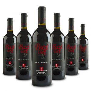 Confezione 6 bottiglie Refosco dal Peduncolo Rosso – Baccichetto