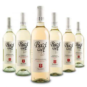 Confezione 6 bottiglie Mista Bianchi – Baccichetto