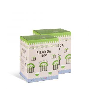 Confezione 2 bag in box Sauvignon Igt 5 litri – Filanda 1851