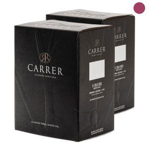 Confezione da 2 Bag in Box Nero del Bosco di 5 Litri - Carrer Vini