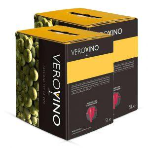 Confezione da 2 Bag in Box Pinot Grigio delle Venezie di 5 Litri - Casa Roma Peruzzet