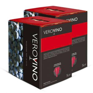 Confezione da 2 Bag in Box Merlot Igp Veneto  di 5 Litri - Casa Roma Peruzzet