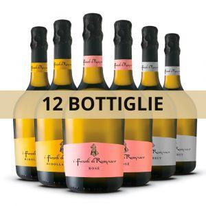 Confezione 12 Bottiglie Bolle Friulane – I Feudi di Romans