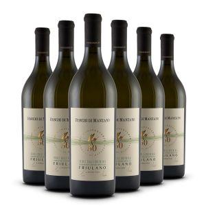 Box 6 bottiglie - Friulano DOC Friuli - Colli Orientali