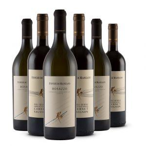 Box 6 bottiglie - Rosazzo DOCG e Cabernet Sauvignon DOC - Colli Orientali