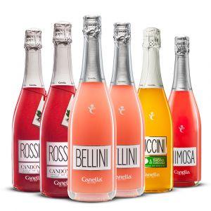 Confezione 6 bottiglie Mix Cocktail – Canella