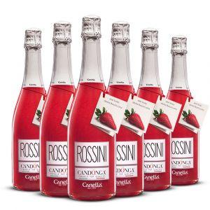 Confezione 6 bottiglie Rossini – Canella