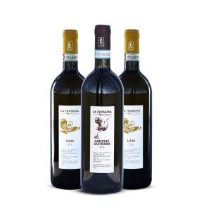 Lison Docg e Cabernet Sauvignon Doc Venezia – 3 bt – La Frassina