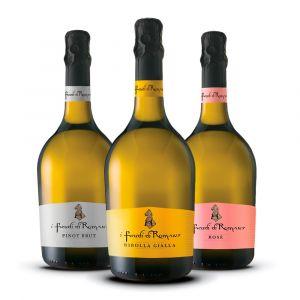 Confezione 3 Bottiglie  Brut Linea Spumanti - I Feudi di Romans