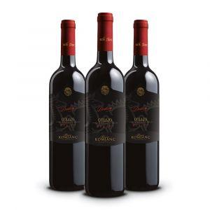 Confezione 3 bottiglie Merlot Doc Collio Dedica - Komjanc Alessio
