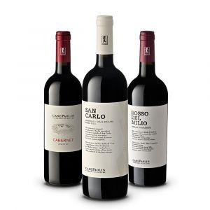 Confezione 3 bottiglie Montello Rossi – Case Paolin