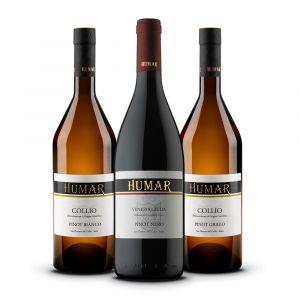 Confezione 3 Bottiglie Pinot – Humar