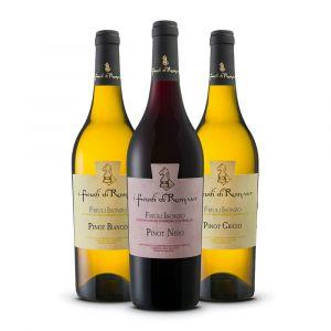 Confezione 3 Bottiglie Pinot Linea Classica - I Feudi di Romans