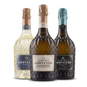 Confezione 3 Bottiglie Prosecco – Corvezzo 1955 Family Collection