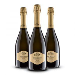 Confezione 3 bottiglie Prosecco Doc Treviso extra dry – Antonio Facchin