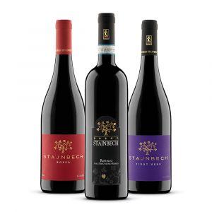 Confezione 3 bottiglie rossi – Borgo Stajnbech