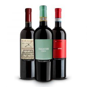 Confezione 3 bottiglie Rossi –Villabella
