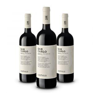Confezione 3 bottiglie San Carlo Montello Doc – Case Paolin