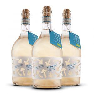 Confezione 3 Bottiglie Prosecco Bio Frizzante Doc  Rifermentato in bottiglia – ShakeME! - Corvezzo