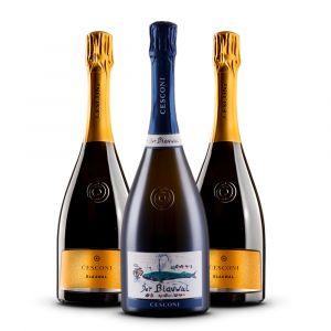 Confezione 3 Bottiglie Spumanti - Cesconi