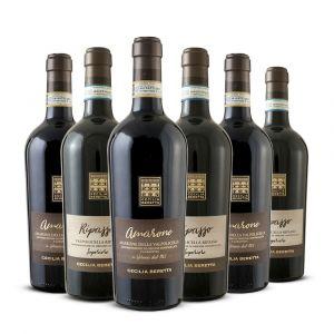 Confezione Amarone e Ripasso – 6 bottiglie Cecilia Beretta