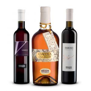 Confezione 3 Bottiglie Selezione Passiti - Rigoni Vittorino
