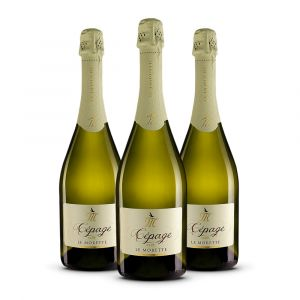 Confezione 3 bottiglie Cépage Spumante Brut - Le Morette