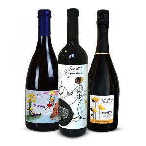 Confezione Degustazione – 3 bottiglie – Enotria Tellus