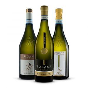 Confezione 3 bottiglie - Lugana Benedictus, Lugana Mandolara e Lugana Riserva - Le Morette