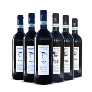Confezione 3 Cabernet Sauvignon Doc Venezia + 3 Merlot Doc Venezia – La Frassina