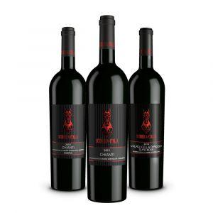 Confezione 3 bottiglie Vini Rossi – Scuderia Italia