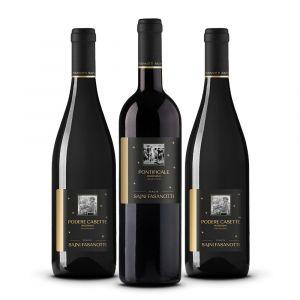 Confezione 3 Bottiglie Degustazione Marzemino - Tenute Sajni Fasanotti