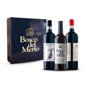 Confezione 3 bottiglie Degustazione Rossi Astuccio - Bosco del Merlo