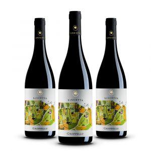 Confezione 3 bottiglie di Groppello - Le Sincette