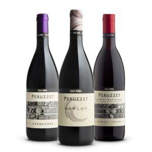 Confezione 3 bottiglie Rossi - Casa Roma Peruzzet