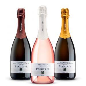 Confezione 3 bottiglie Spumanti - Peruzzet