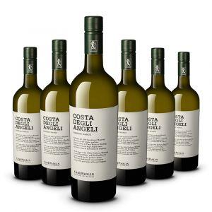 Confezione 6 bottiglie Costa degli Angeli Manzoni Bianco Igt – Case Paolin