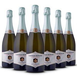 Confezione 6 bottiglie Franciacorta Brut Cuvée 22 Docg – Castello Bonomi