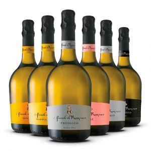 Confezione 6 Bottiglie Gran Selezione Linea Spumanti - I Feudi di Romans