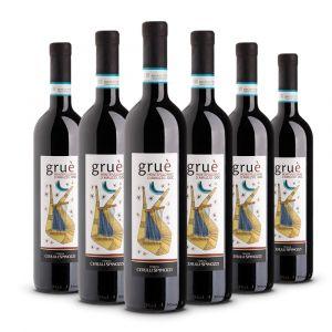 Confezione 6 bottiglie di Gruè Montepulciano d'Abruzzo Doc - Cerulli Spinozzi