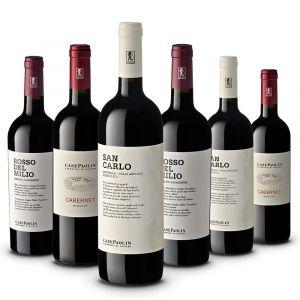 Confezione 6 bottiglie Montello Rossi – Case Paolin