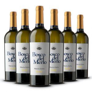 Confezione 6 bottiglie Ribolla Gialla ISIDE –  Bosco del Merlo