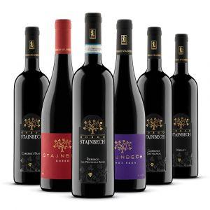 Confezione 6 bottiglie rossi – Borgo Stajnbech