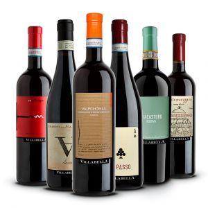 Confezione 6 bottiglie Rossi –Villabella
