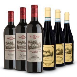Confezione 6 bottiglie Rossi – Villa Cordevigo