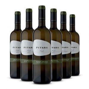 Confezione 6 bottiglie Selezione Bianchi - Pitars